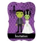 Halloween Wedding Invitation Bride of Frankenstein
