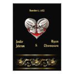 halloween wedding Invitation Custom Invites