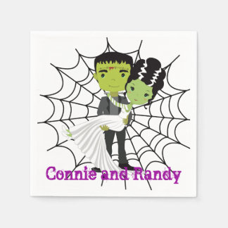 Halloween Wedding Napkin