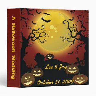 Halloween Wedding Photo Album Notebook Vinyl Binder