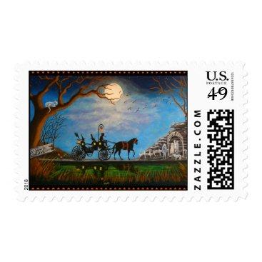 Halloween Themed Halloween,wedding,postage,stamps Postage