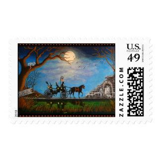 Halloween,wedding,postage,stamps Postage Stamp