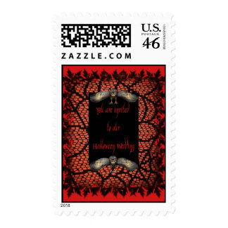 Halloween Wedding Stamps
