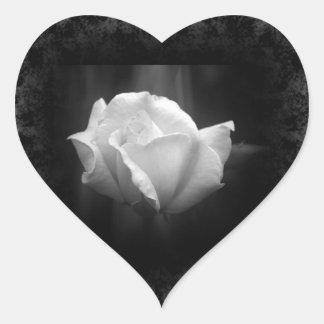 Halloween Wedding White Rose Sticker
