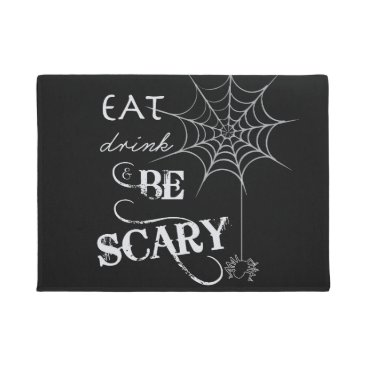 Halloween Themed Halloween Welcome Mat   Eat, Drink, & Be Scary