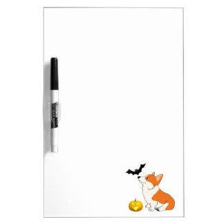 Halloween Welsh Corgi Dry-Erase Board