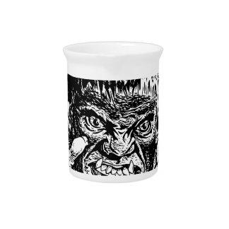 Halloween Werewolf Drink Pitcher