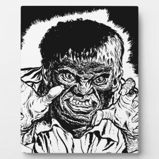 Halloween Werewolf Plaque