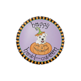 Halloween Westie Candy Tin