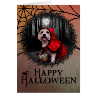 Halloween - Westie - Lady Card