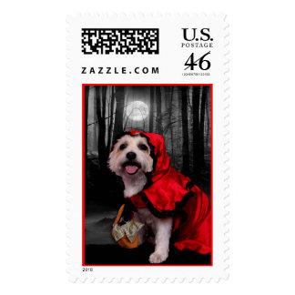 Halloween - Westie - Lady Postage