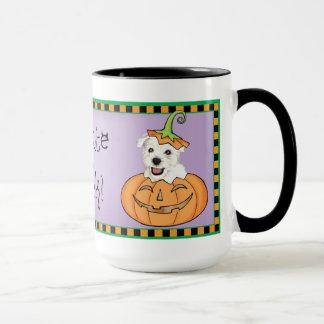 Halloween Westie Mug