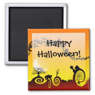 Halloween Whacky Magnet