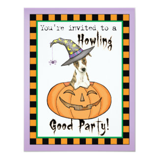 Halloween Whippet Card