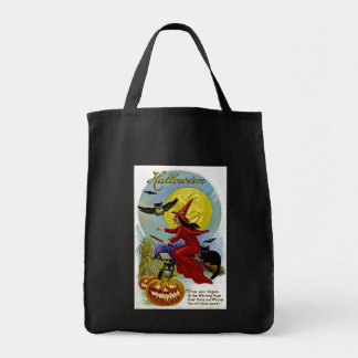 Hallowe'en Whitch and Moon Bag