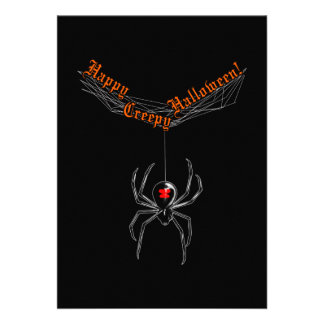 Halloween Widow Card