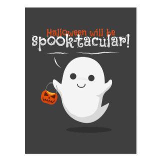 Halloween will be spook-tacular postcard