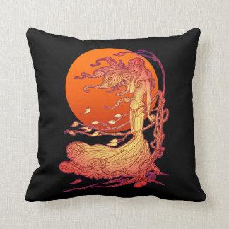 Halloween Wind Throw Pillow