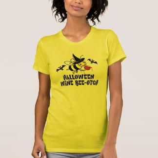 Halloween Wine Beeotch T-Shirt