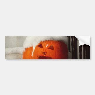 Halloween - Winter - I'm cold Car Bumper Sticker