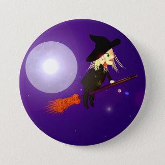 Halloween Wireless Witch Button