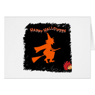 Halloween_Witch 1 Greeting Card