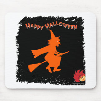 Halloween_Witch 1 Mouse Pad