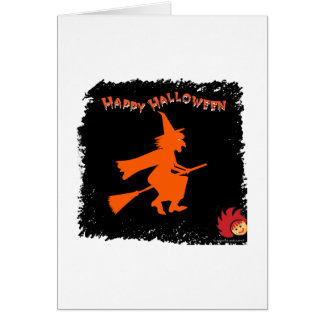 Halloween_Witch 1 Stationery Note Card