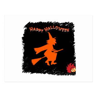 Halloween_Witch 1 Tarjeta Postal