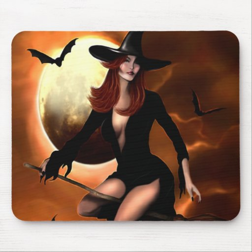 Halloween Witch 2005 Mouse Pad