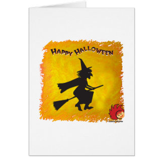 Halloween_Witch 2 Stationery Note Card