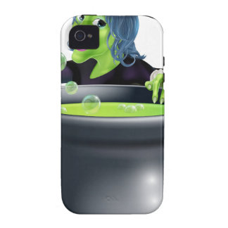 Halloween Witch and Cauldron iPhone 4/4S Cover