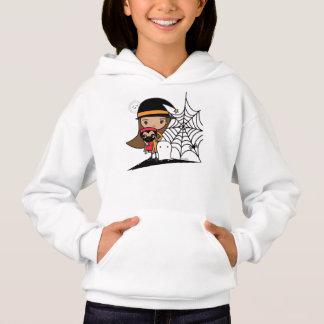 Halloween Witch and Pugs Sweatshirt