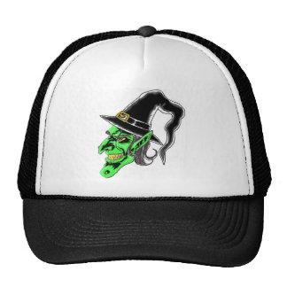 Halloween Witch Art Trucker Hat