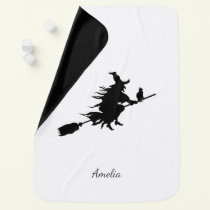 Halloween Witch Baby Blanket