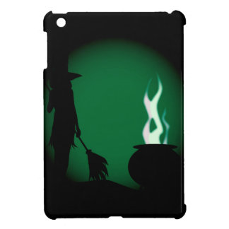 Halloween Witch Background iPad Mini Cover