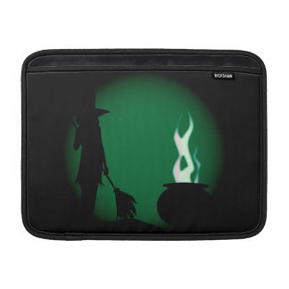Halloween Witch Background Sleeve For MacBook Air