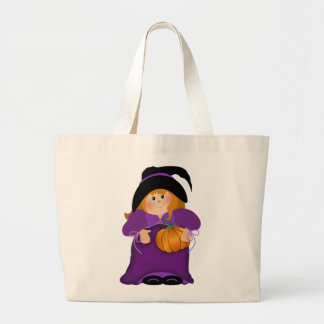Halloween Witch Canvas Bags