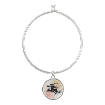 Halloween Themed Halloween Witch Bangle Bracelet