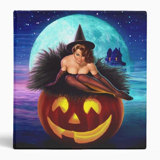 """""""Halloween Witch"""" Binder"""