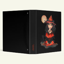 Halloween Witch Binder by Molly Harrison