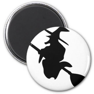 halloween witch black icon magnet