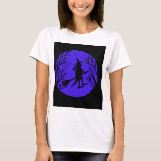 Halloween witch - blue T-Shirt
