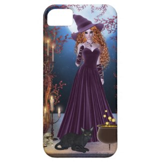 Halloween Witch by Candlelight iPhone 5 Cover