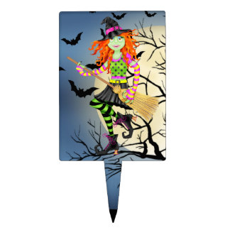 Halloween Witch Cake Pick - SRF