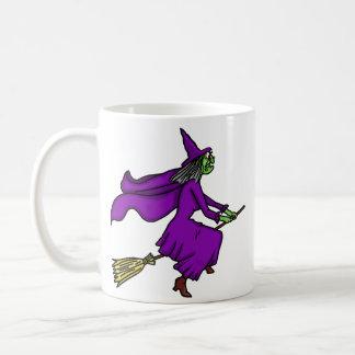 Halloween Witch Cartoon Mugs
