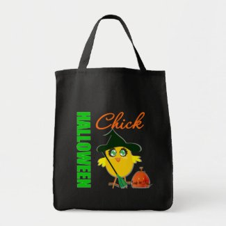 Halloween Witch Chick v1 bag