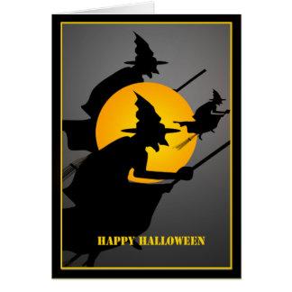 Halloween Witch Custom Card