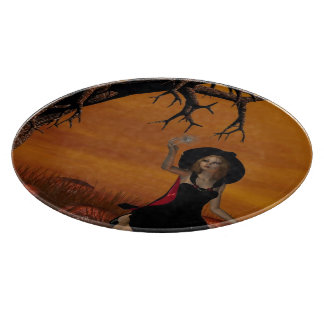 Halloween Witch Cutting Board