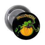 HALLOWEEN-, witch-falling-in-pumpkin button